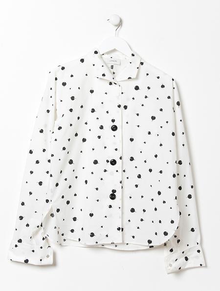 Lemaire Kimono Sleeve Print Shirt