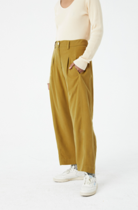 Back Beat Co. Tencel Work Pant - Willow