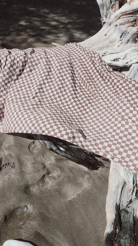 Steven Alan Wyeth Sarong scarf  - Brown Checker