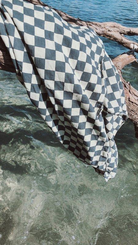 Steven Alan Wyeth Sarong scarf  - Green Checker