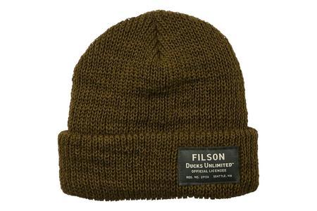 Filson Ducks Unlimited Watch Cap - Olive