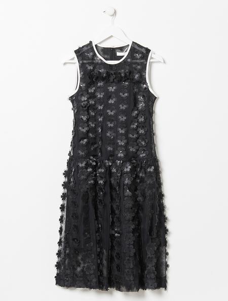 Peter Jensen Floral Net Dress