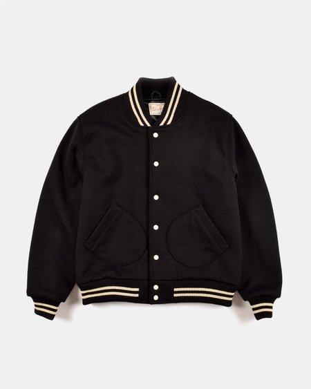 Dehen JSW Wool Knit Club Jacket - Black