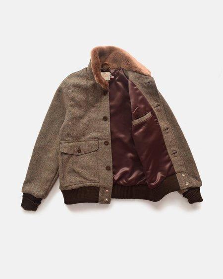 Dehen Winston Jacket - Camo Tweed/Kodiak Mouton
