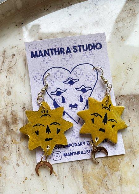 Manthra Studio Sun Ray Earrings
