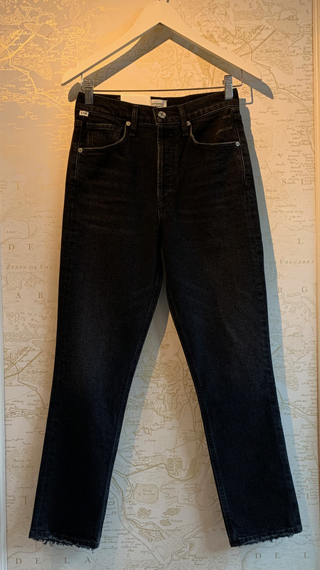 Citizens of Humanity Jolene High Rise Straight Jeans - Stormy