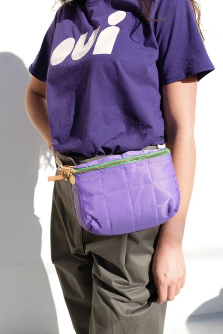 Clare V. Fanny Pack - Iris Quilted Puffer