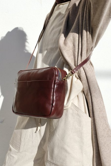 Clare V. Mirabel Bag - Rustic Walnut