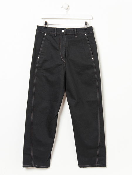 Lemaire Twisted Black Jeans