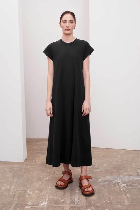 Kowtow Cap Sleeve Dress  BLACK