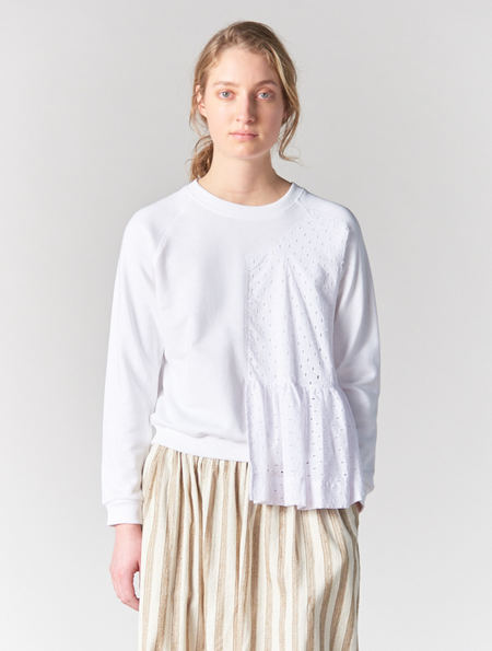 Peter Jensen Frill Panel Sweatshirt