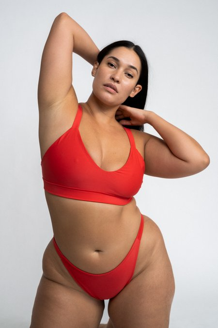 The Saltwater Collective Layla Top - Red