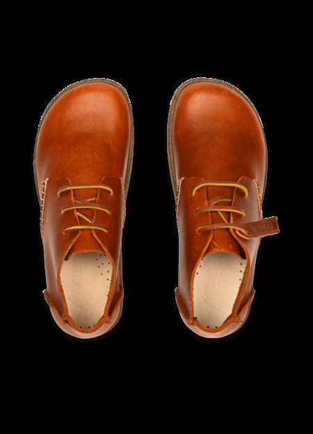 Kids Yogi x YMC Women's Archer Leather Shoes - Tan