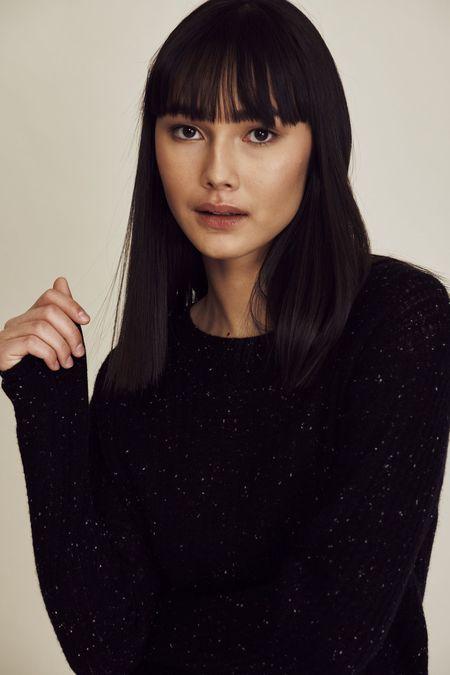 Line the Label Winnie Sweater - Night Sky