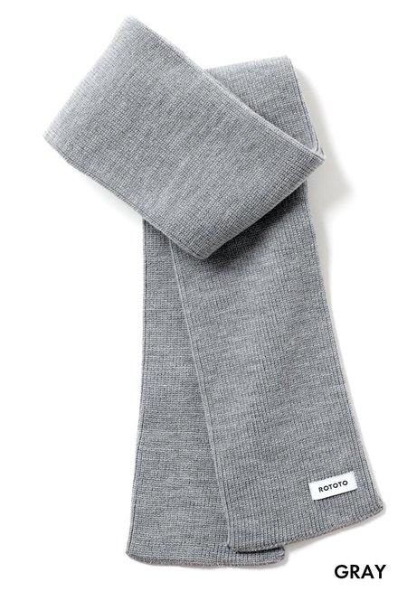 Merino Wool Sock Stole