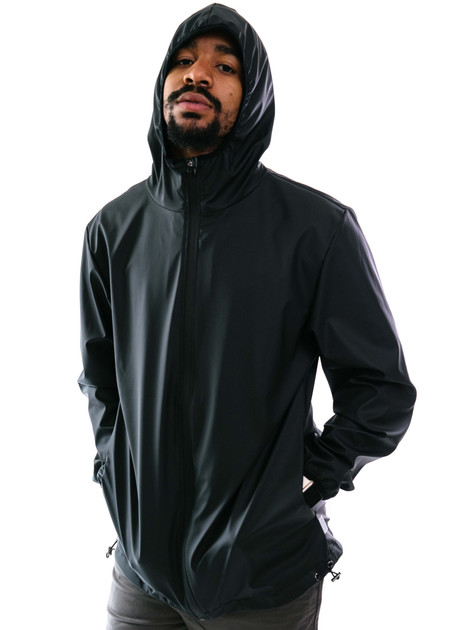Rains Base Jacket (Black/Black)