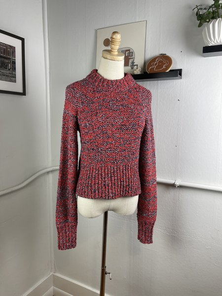 [PRE-LOVED] Current/Elliot Multi-Knit Sweater-Red