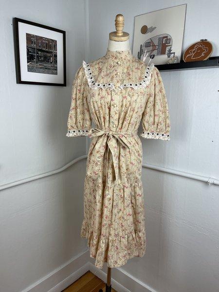 Vintage Floral Prairie Dress -