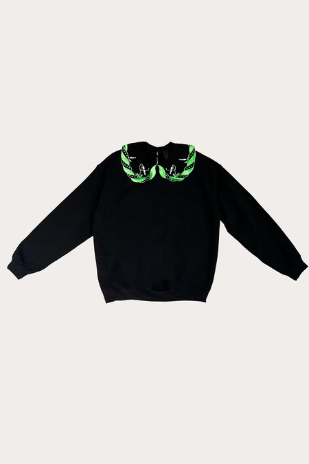 Lily of the Valley Sweatshirt - Black