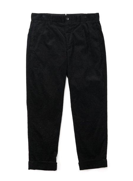 Engineered Garments Andover Cotton 8W Corduroy Pant - Black