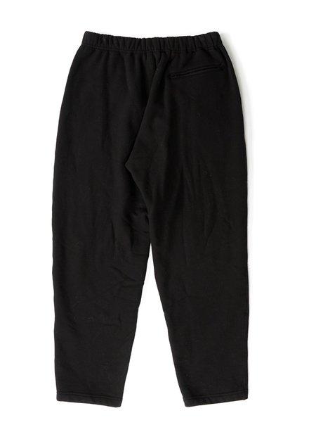 Engineered Garments Cotton Heavy Fleece Jog Pant - Black