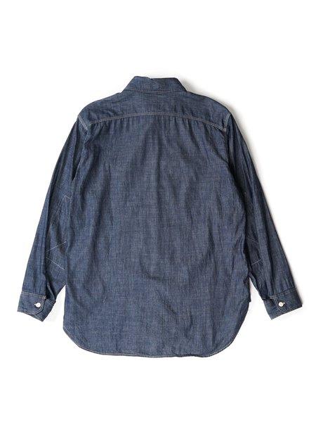Engineered Garments Denim Twill Work Shirt - Indigo