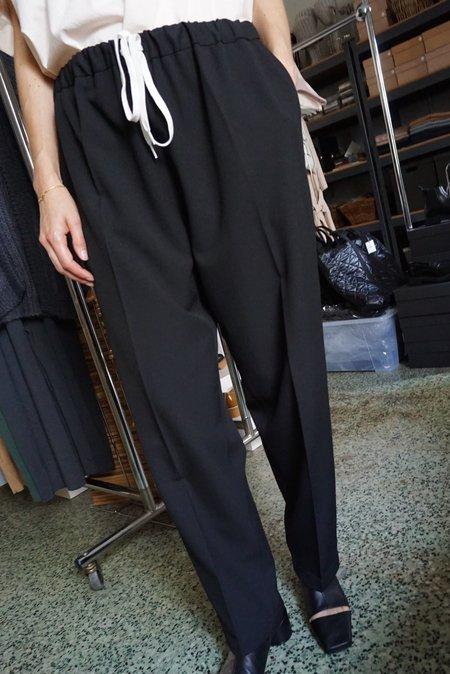 MM6 Maison Margiela Drawstring Pants - Black
