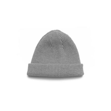 Homespun Knitwear Thermal Knit Cap - Grey Melange
