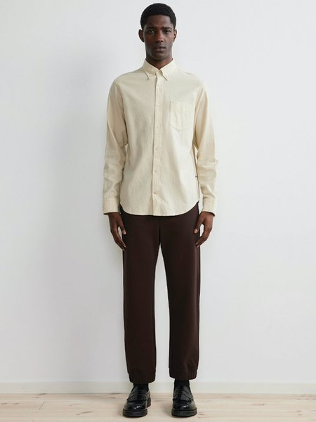 NN07 Levon Cotton Shirt - Ecru