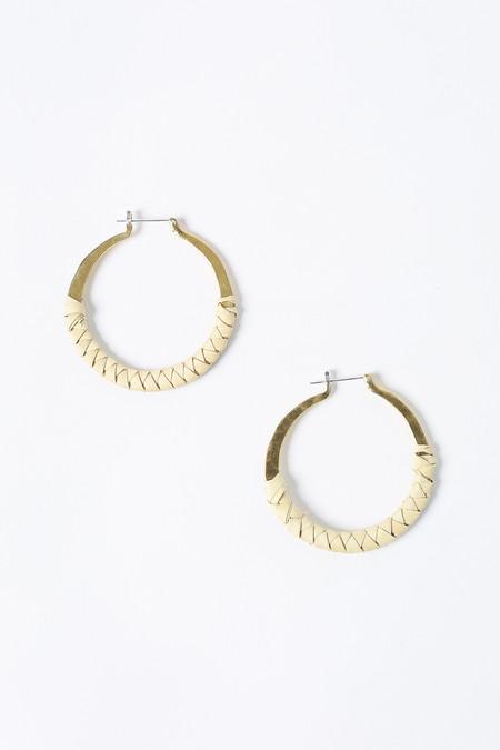 Crescioni Kiva earrings in oaxacan