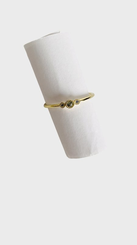 Jennie Kwon Designs Green Sapphire Genesis Ring