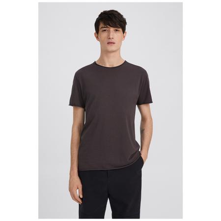 Filippa K roll neck tee - Grey Purple