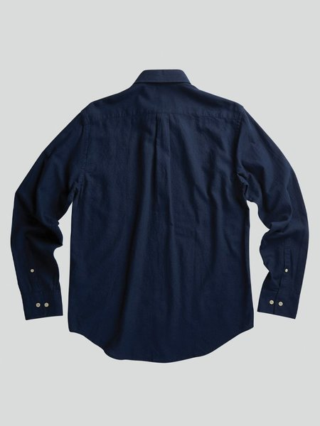 NN07 Levon Cotton Shirt -  Navy Blue