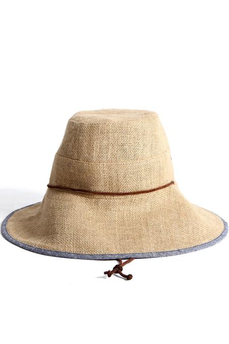 Tsuyumi Jute Wide Brim Sun Hat