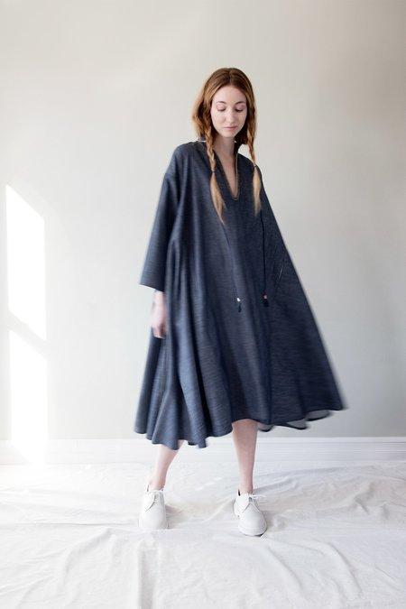 Uqnatu Dervish Dress - Denim