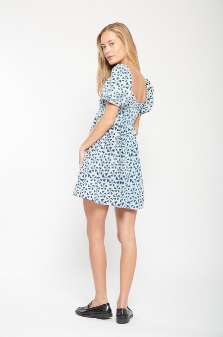 ciao lucia Diana Printed Cotton Dress - Pinwheel