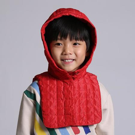 Kids  Tia Cibani Child Down Hood - Big Red