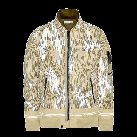 Stone Island Naslan Light Watro Rain Camo Men MO7515433E1-V0091 jacket - Ecru