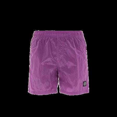 Stone Island Swimming Men MO7515B0943-V0045 Shorts - Nylon Metal Magenta