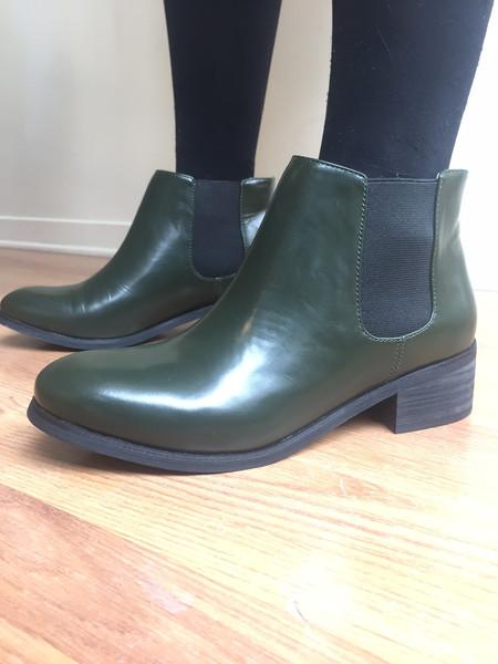 Marais Sage Leather Boots