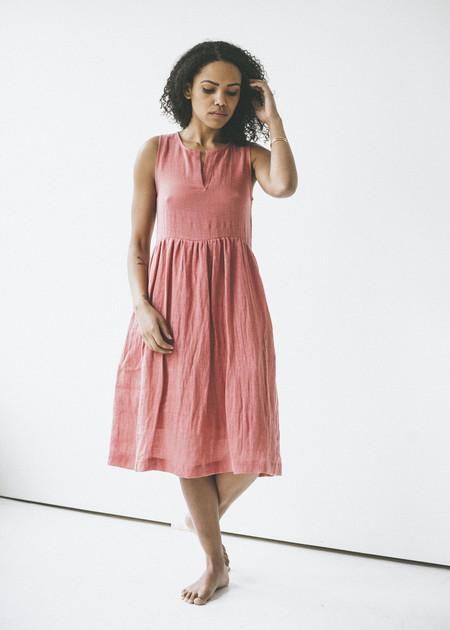 Amanda Moss - Mayfair Dress in Brique