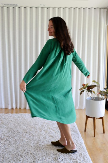 Fabiana Pigna Tamir Dress -Emerald
