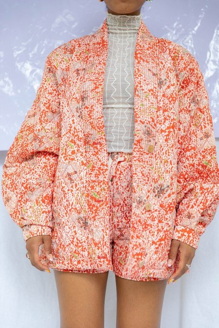 Tyler Quilted Jacket-Prints