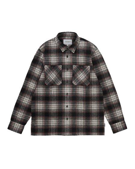 CARHARTT WIP Camisa LS Hagen Shirt - Hagen Check Hammer