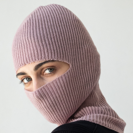 Check Ya Head 016 balaclava hat - pink