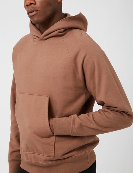 Lady White Co. Super Weighted Hooded Sweatshirt - Brown Twig