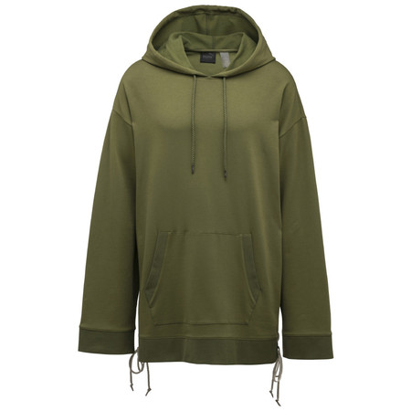 Puma Fenty By Rihanna Hoody With Slide Lacing / Olive Branch