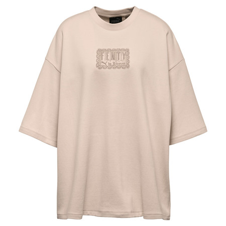 Puma Fenty By Rihanna Oversized Crew Neck T-Shirt / Crystal Rose