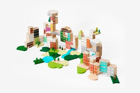 Kids Areaware Blockitecture Big City