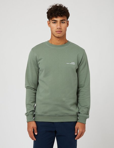 A.P.C. Item Sweatshirt - Green